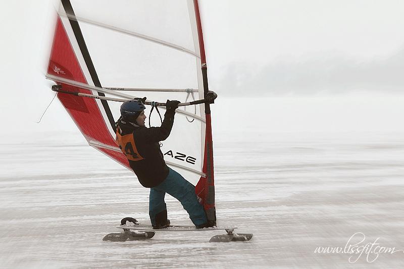 Ice Cup Sweden – vintervindsurfare