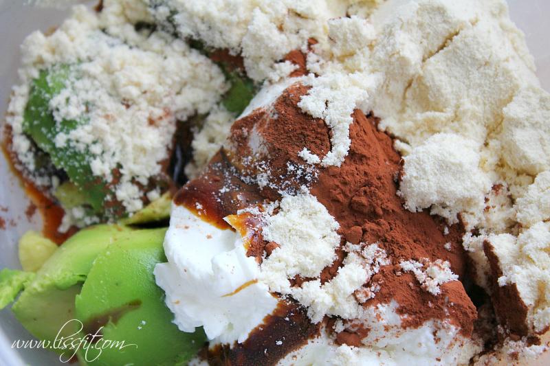 ingredienser kakao proteinpulver avokado yacon sukrin kesella