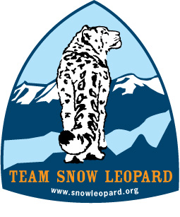 team snow leopard snöleopard logo
