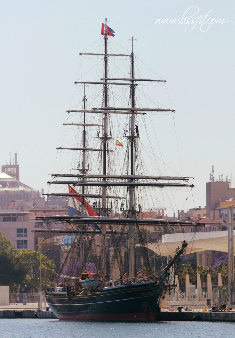 Clipper Stad Amsterdam i Malaga