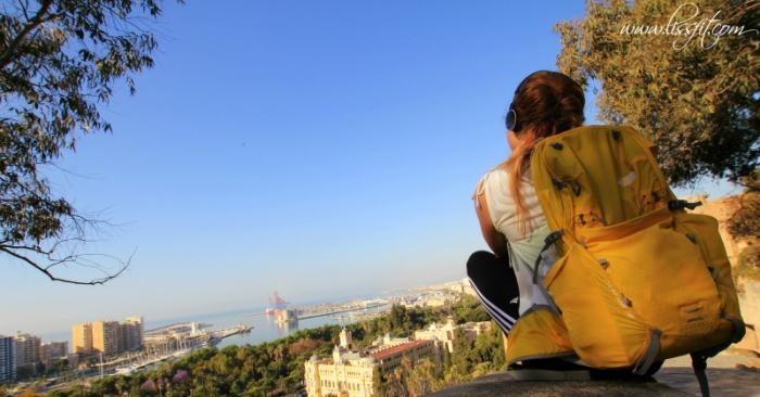 Malaga view from Gibralfaro
