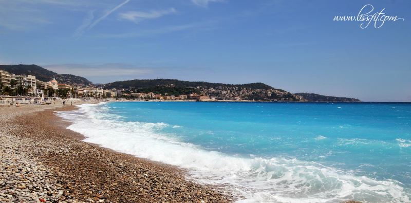 Nice beach franska rivieran lissfit
