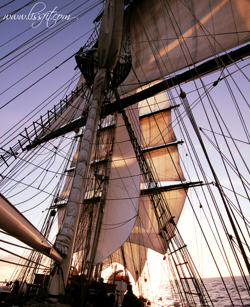 sunny sails clipper stad amsterdam lissfit