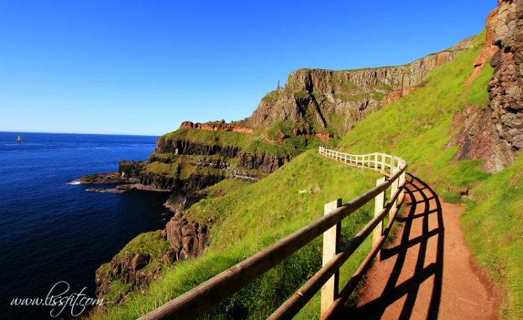Giants Causeway track view lissfit