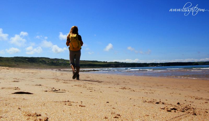 White Park Bay Causweay Coast way lissfit