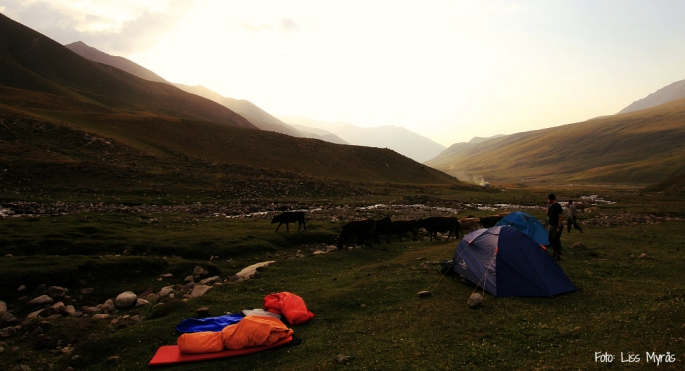 kyrgyzstan overnight stay expedition camp