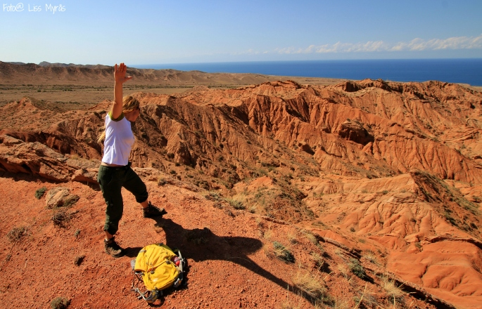 fairy tale canyon kyrgyzstan issyk kul lake liss