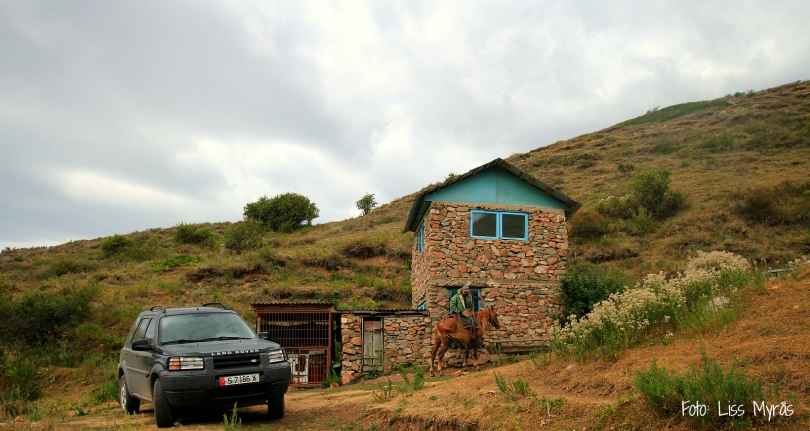our cabin at the snow leopard center