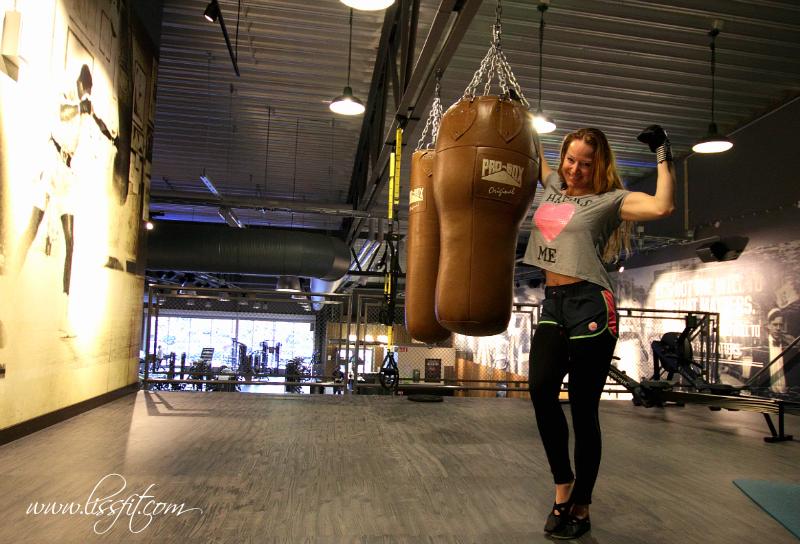 Liss Myrås boxing gym träning fitness