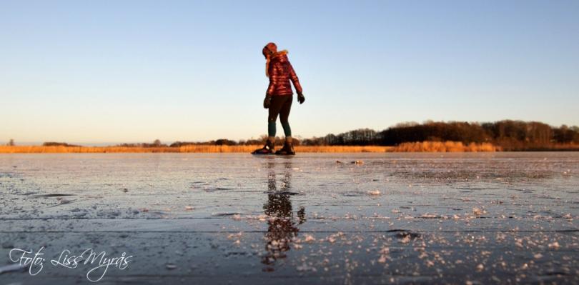 foto liss myrås ice skating Vasteras skridskor sweden lissfit sport