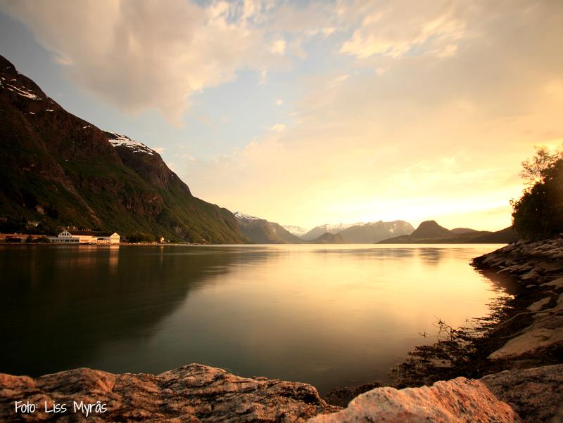 Åndalsnes Rauma Romsdalsfjorden landskap foto Liss Myrås