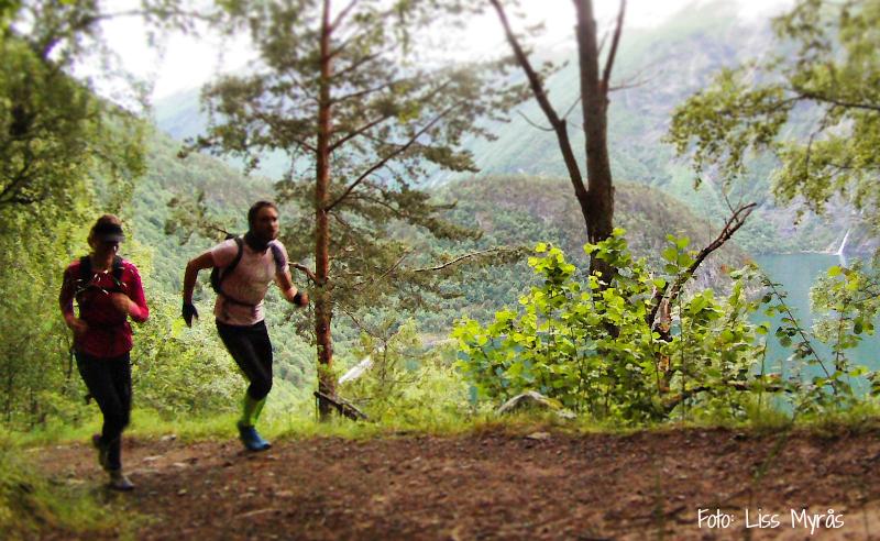 Löpmål från fjord till fjäll – 600 m upp… och nerigen