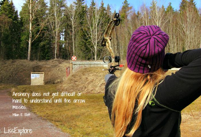 compound archer outdoor bågeskytte bueskyting liss myrås