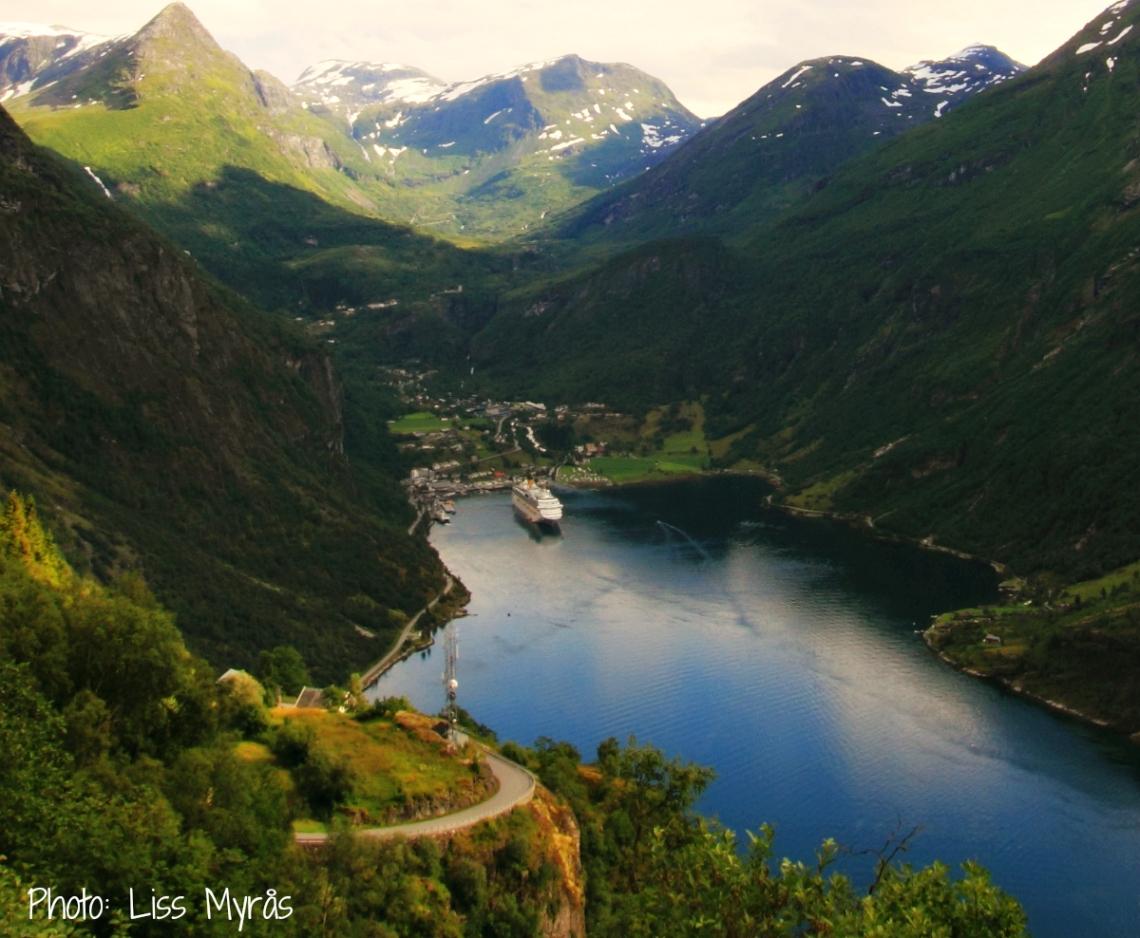 Norway Geiranger Ørnevegen bike trip photo liss myrås