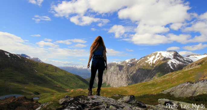 norwegian mountain tafjordfjella fjelltur natur panorama liss myrås