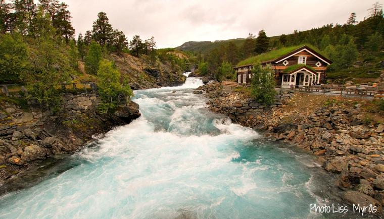Norway Billingen Tora foss Breheimen Nasjonalpark diktarstig Jan Magnus Bruheim skjak photo liss myrås