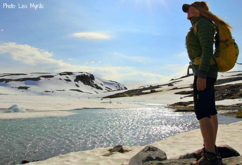 Smorstabbreen glacier Krossbu Sognefjellet Jotunheimen Norway landscape photo liss myras selfie