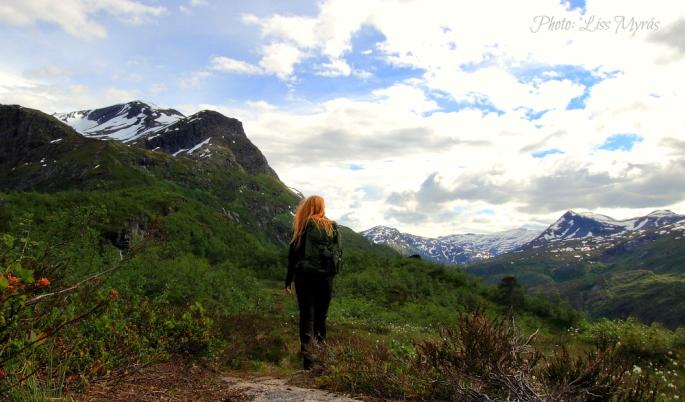 flyene hiking tafjord mountains panoramic view kaldhussetra