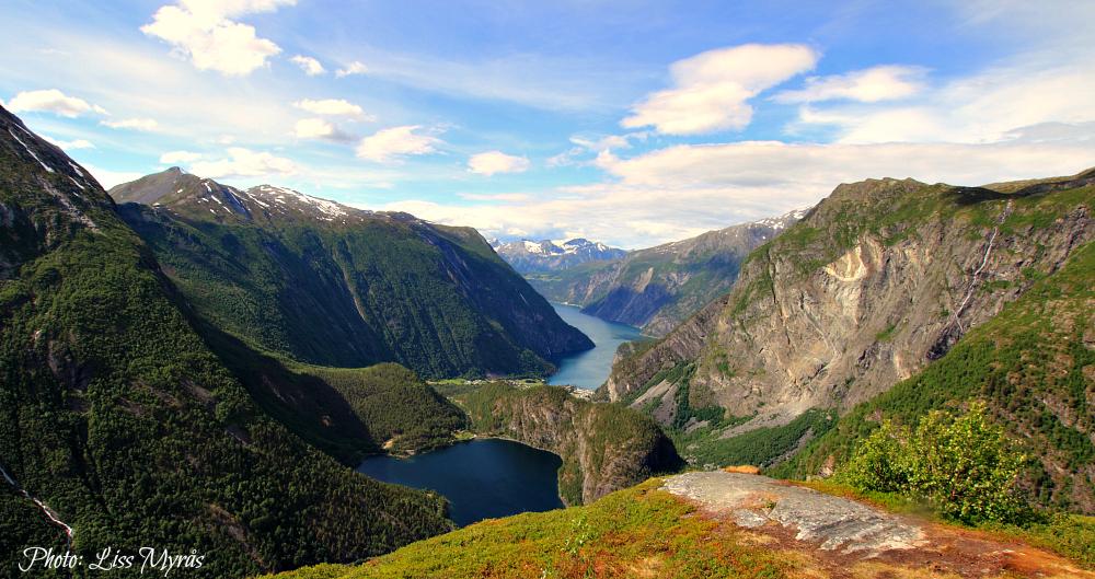 Flyene tafjordfjella hike panorama norway fjord landscapes photo liss myraas