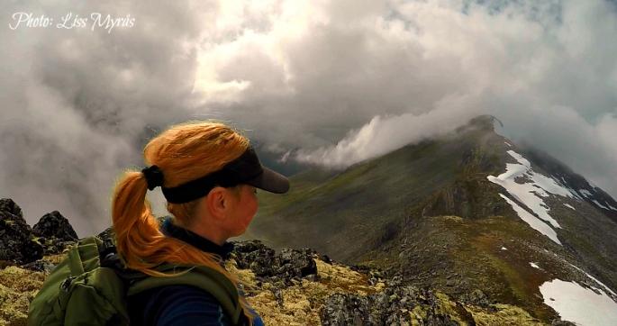 kallskaregga kallskaret hiking norway mountains tafjord photo liss myraas