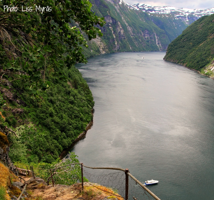 steep hiking trail geiranger skagefla photo liss myraas