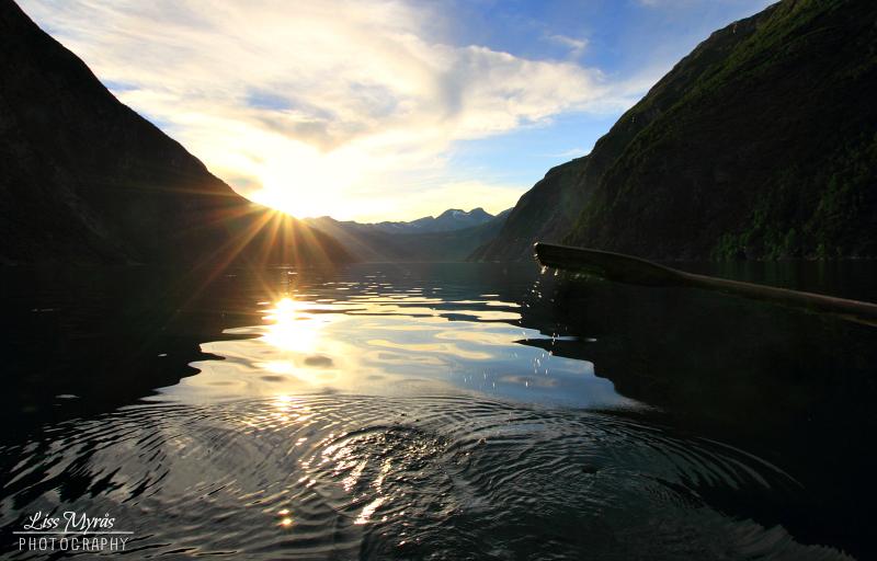 tafjorden rowing norwegian fjords workout landscape