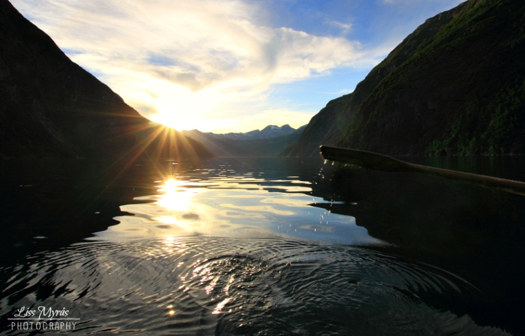 tafjorden rowing norwegian fjords workout landscape