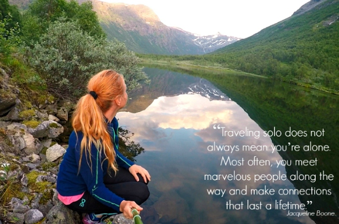 Norway solo travel hiking biking nature landscape quote photography liss myraas