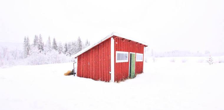 sweden north old farm land chicken house torp gard photo liss myraas