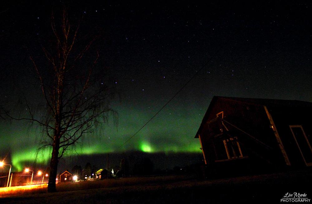 norrsken aurora borealis nordlys polar light northern lights norrland