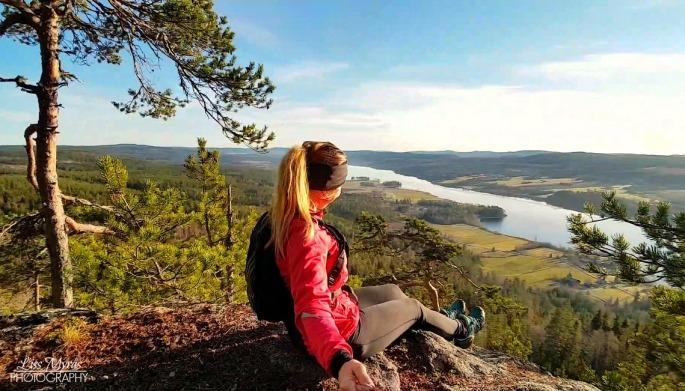 Antarsberget Pokerhyllan löpning trail utsikt fritid trening örnsköldsvik