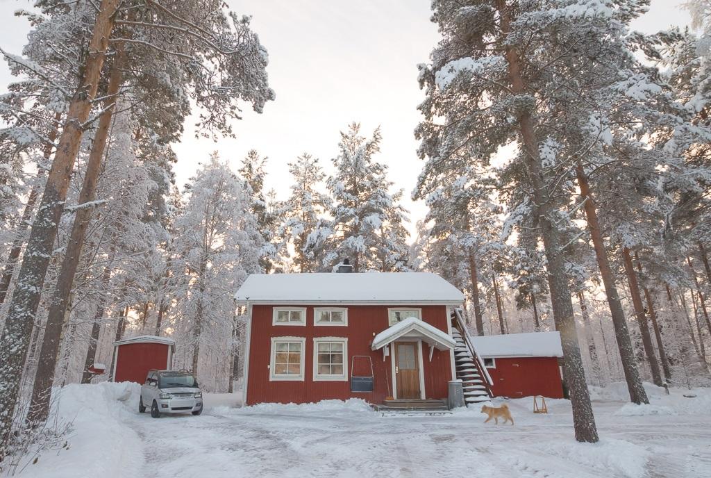 örnsköldsvik bagarstuga vedfyrt vedeldad lefser tunnbröd stuga cabin