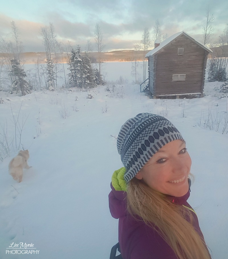 cabin lake bredbyn örnsköldsvik skitur lapphund kari traa cardio