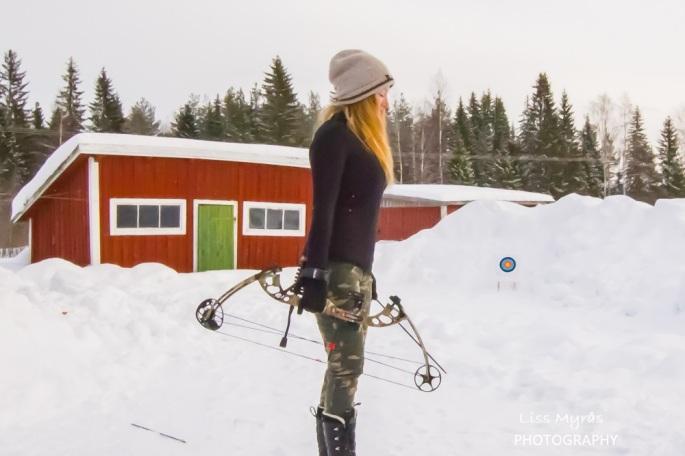 bågskytte compound bow camouflage target arrow bueskyting