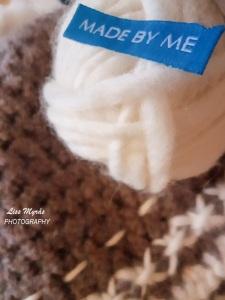 garn yarn eskimo crochet pure wool beanie handmade handcrafted