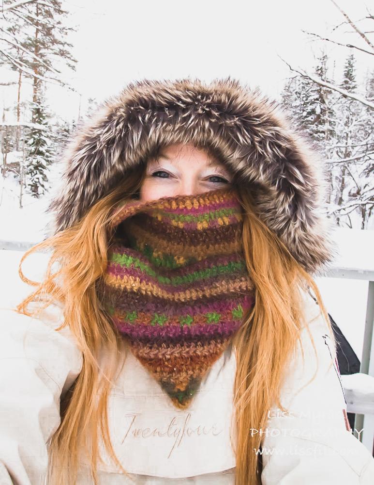 crochet wool intifiny shawl cowl earth dye ullplagg hekling virkat pattern jordfarger big delight yarn-2