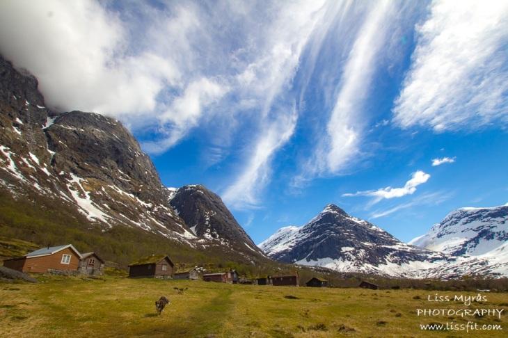 Erdalsetra ERdalen hiking seter mountain farm Strynekåpa