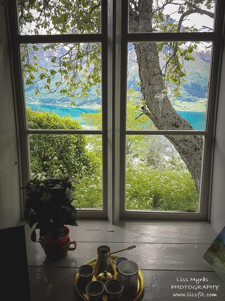 segestad window view oppstrynsvatnet