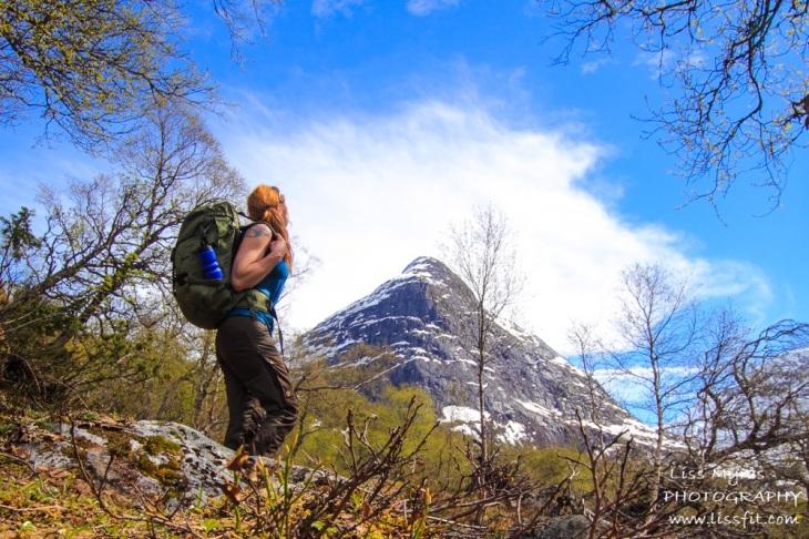 hiking strynekåpa stryn erdalen vetledalen trail vandrin turg