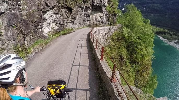 Steep Norwegian roads Lovatnet
