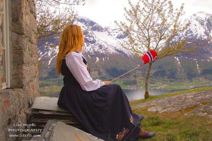 17 mai nasjonaldag national day Norway costume bunad festdrakt segestad