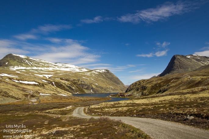 Rondane rondvassbu bike tour trip travel landscape rondvatnet