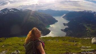 heggurdalen hegguraksla hike trail fjord view mountain valldal fjoraa nysetra panoramic landscape
