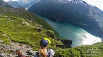 heggurdalen hegguraksla hike trail tafjorden valldal fjoraa nysetra panoramic landscape
