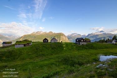 klovset klovsetsaetra tafjordfjella cabins hyttegrend valldalen fjords mountain pasture travel visit norway hike