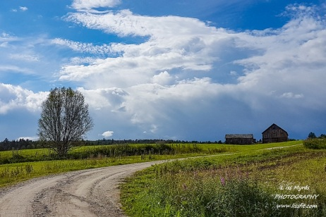 landscape bicycle route sykkelrute farm Norway tour travel nature