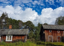 landscape bicycle route sykkelrute seter cabin os roros farm Norway tour travel nature