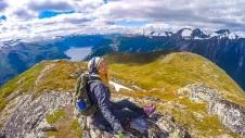 Mefjellet fjelltur mountain hike valldal taf