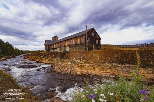 roros rorosmuseet mining house river landscape norway trondelag røros norway