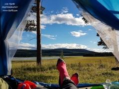 fishcamp storsjo camp fishing lake sweden